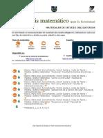Bibliografía Análisis Matemático 1 2016