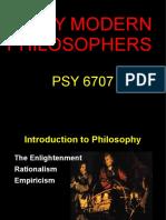 Week Two Early Philosophers