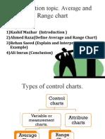 Average and Range Charts