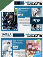 Novedades Ivrea Marzo 2016