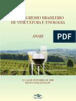 Congresso brasileiro e viticultura e enologia