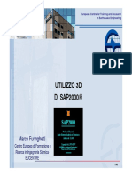 Tutorial - Introduzione SAP2000