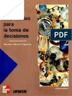 Analisis Cuantitativo Para La Toma de Decisiones - Bierman, Harold(Author)