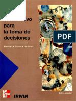 Analisis Cuantitativo Para La Toma de Decisiones - Bierman, Harold(Author)