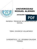 Divorcio Voluntario