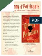 A Tyranny of Petticoats Q&A