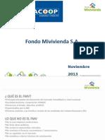 Productos FMV - Noviembre 2013