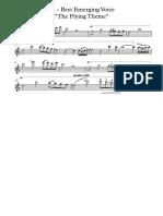 14 - Best Emerging Voice - Violin I