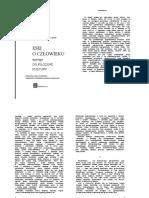 Cassirer Ernst - Esej o Cz%B3owieku. Wst%EAp Do Filozofii Kultury
