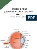 Glaukoma Akut Cae