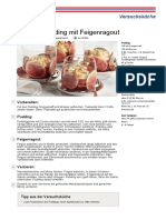 Original Pudding Mit Feigenragout