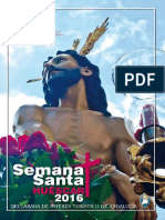 Programa Semana Santa Huéscar 2016