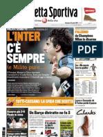 Gazzetta Dello Sport 25-04-2010