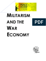 Militarism & the War Economy