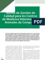 cv_38_Norma de Gestión de Calidad para los Centros de Medicina Veterinaria de Animales de Compañía