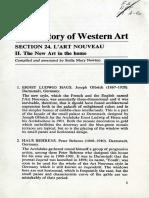 The History of Western Art L'Art Nouvea II