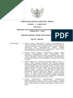Perda 12 Tahun 2011 (Rencana Tata Wilayah Kab Bekasi 2011-2031)