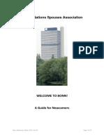 Bonn Newcomer Guide