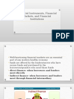 1- Financial Instruments, Financial Markets, And Financial 1 d