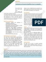 Patent Portfolio Management