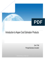 8. Introduction to Cost Estimation Software
