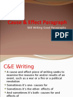 5-Cause & Effect Writing