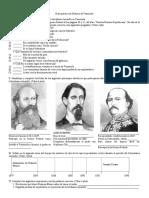 Guía Práctica de Trabajo de Historia de Venezuela