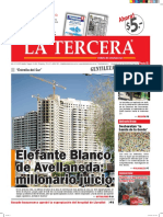 Diario La Tercera 14.03.2016