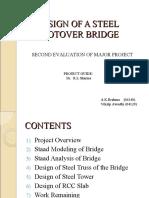 Design of a Steel Footover Bridge