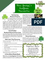 week of 3 14 newsletter