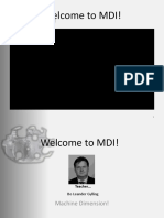 Introduction MDI