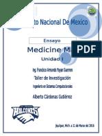 Ensayo Medicine Man 14420178