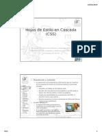 Tema 09 - Hojas de Estilo en Cascada [02-2015]