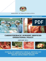 KKM Cardiothoracic Operation Policy