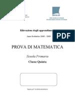 Matematica 2008-2009
