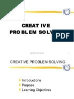KEMAHIRAN BELAJAR - CREATIVE PROBLEM SOLVING