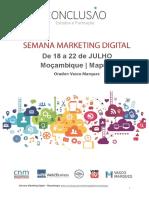 Semana Marketing Digital Moçambique