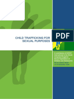 Child Trafficking for Sexual Purposes - ECPAT