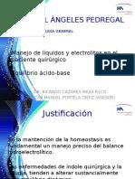 Homeostasia Hidroelectrolítica en Cirugía