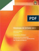 Programa Desarrollo de Ambientes Protectores