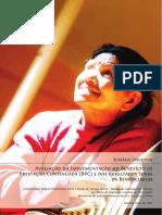 Avaliação Implementação BPC e Resultados Beneficarios