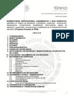 Normas Disposiciones Lineamientos y Guía Operativa