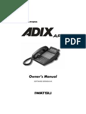 Free Iwatsu Phone Label Templates