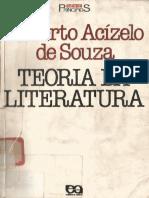 ACÍZELO, Roberto de Souza - Teoria Da Literatura