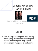 Refreshing Anatomi Dan Fisiologi Kulit - Farhan