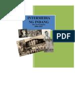 INTERMEDIA NG INDANG (1904-1927) - Preliminaryo