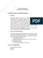 Fungsi Manajemen-Pengendalian