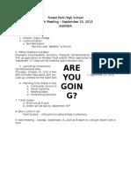 fphs fbla agenda september 10 2015