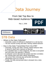ANALYSIS STB Data Journey from set top box to web based audience metrics