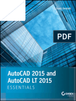Auto Cad 2015 and Autocad Lt 2015 Essential